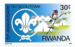 Stamps : Africa : Rwanda :  scouts 6