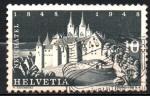 Sellos de Europa - Suiza -  CASTILLO  DE  NEUCHATEL