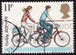 Sellos del Mundo : Europa : Reino_Unido : Bicicletas-Centenario