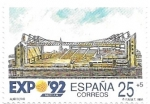 Stamps Spain -  auditorio