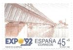 Sellos de Europa - España -  puente de la cartuja
