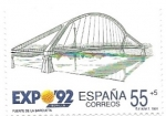 Sellos de Europa - España -  puente de la barqueta