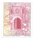 Sellos de Europa - España -  puerta de Santiago, Melilla