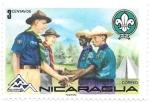 Sellos del Mundo : America : Nicaragua :  scouts
