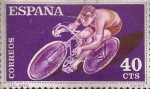 Stamps Spain -  Edifil ES 1307 Ciclismo