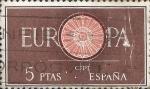 Sellos del Mundo : Europa : España : Edifil ES 1295  Europa (C.E.P.T.) 1960 - Rueda