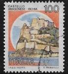 Sellos de Europa - Italia -  Castillo Aragonés, Isquia