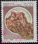 Stamps : Europe : Italy :  Castillo de Cerro al Volturno