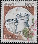 Stamps : Europe : Italy :  Castillo de Rovereto