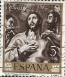 Sellos del Mundo : Europa : España : Edifil ES 1338 Pintores- El Greco