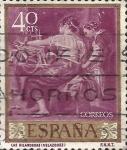 Sellos del Mundo : Europa : España : Edifil ES 1239 Pintores Velazquez