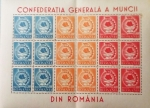 Sellos del Mundo : Europa : Rumania : confederatia generala a muncii din romania