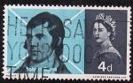 Stamps United Kingdom -  Robert Durns