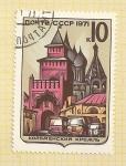 Sellos de Europa - Rusia -  Castillo