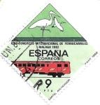 Sellos de Europa - España -  trenes