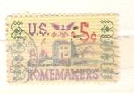 Sellos de America - Estados Unidos -  bordado