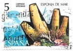 Sellos de Europa - España -  esponja de mar