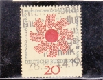 Stamps Germany -  emblema