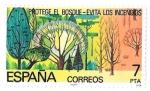 Sellos de Europa - España -  protege el bosque