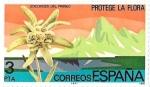 Sellos de Europa - España -  protege la flora