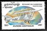 Sellos de Asia - Camboya -  Aviones - Potez 25, 1925