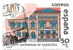 Stamps : Europe : Spain :  universidad de Zaragoza