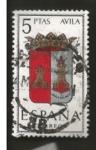 Sellos del Mundo : Europa : España : Edifil ES 1410 Escudos Provinciales AVILA