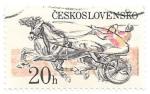 Stamps Czechoslovakia -  deportes hípicos