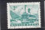 Stamps Hungary -  TRANSPORTES