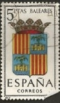 Stamps : Europe : Spain :  Edifil ES 1412 Escudos Provinciales BALEARES