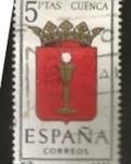 Sellos del Mundo : Europa : España : Edifil ES 1484 Escudos Provinciales CUENCA