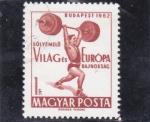 Stamps Hungary -  ALTEROFÍLIA BUDAPEST 1962