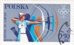 Stamps : Europe : Poland :  OLIMPIADA DE MOSCÚ-80