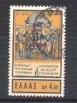 Sellos de Europa - Grecia -  iconos