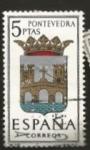 Stamps : Europe : Spain :  Edifil ES 1632 Escudos Provinciales  PONTEVEEDRA