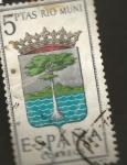 Stamps : Europe : Spain :  Edifil ES 1633 Escudos Provinciales RIO MUNI