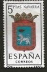 Stamps : Europe : Spain :  Edifil ES 1560 Escudos ProvincialeS NAVARRA