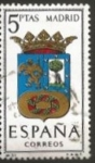 Stamps : Europe : Spain :  Edifil ES 1557 Escudos Provinciales MADRID