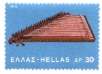 Stamps Greece -  INSTRUMENTOS  MUSICALES.  CANNABIS.