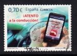 Sellos del Mundo : Europa : España : Atento conduccion (843)