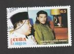 Stamps Cuba -  Visita del presidente Soekarno a Cuba