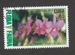 Sellos del Mundo : America : Cuba : Oequidea, Broughtonia orgiesia
