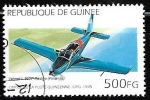 Sellos del Mundo : Africa : Guinea : Aviones - Valmet L-90 Redigo