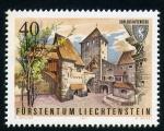 Sellos del Mundo : Europa : Liechtenstein : castllo de gutenberg