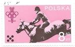 Stamps : Europe : Poland :  hípica