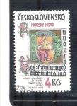 Sellos del Mundo : Europa : Checoslovaquia : RESERVADO tesoros castillo de praga