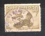 Sellos de America - Cuba -  aves
