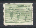 Stamps Cuba -  aves