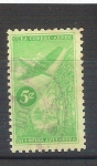 Sellos de America - Cuba -  avión