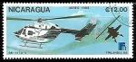 Sellos de America - Nicaragua -  Aviones - Bk – 117a – 3